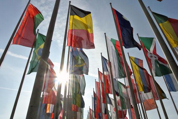 ITB i Berlin är världens största resmässa och lockade i år mer än 10 000 utställare från 189 länder. Foto: Ulo Maasing.