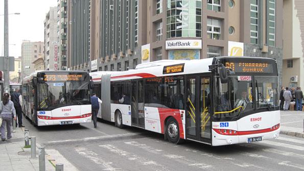 Solaris håller nu på att leverera 100 ledbussar till Turkiets tredje stad Izmir. Foto: Solaris.