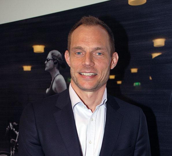 Västtrafiks vd Lars Backström vill utveckla varumärket Västtrafik. Foto: Paula Isaksson.