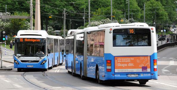 Västra Götaland satsar näst mest i landet på kollektivtrafiken. mätt per invånare. Samtidigt har man de näst minst nöjda resenärerna. Varför? Foto: Ulo Maasing.