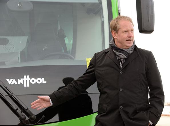 MalmöExpressen är inte bara en buss, det är ett urbant, snabbt och smidigt inslag i Malmö, sa Skånetrafikens trafikdirektör Henrik Dagnäs. Foto: Ulo Maasing.