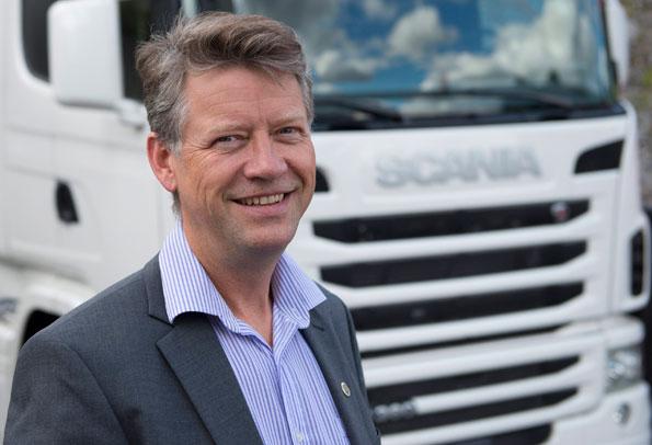 Nils-Gunnar Vågstedt, chef för Scanias utveckling av hybridsystem: Den fordonsteknik som behövs är nu tillräckligt mogen för att vi ska kunna starta seriösa demoprojekt. Foto: Scania.