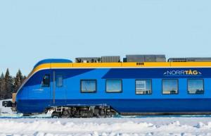 –eller den stora satsningen på Norrtåg förefaller locka människor att fylla tågvagnarna. Foto: Ulo Maasing respektive Norrtåg.