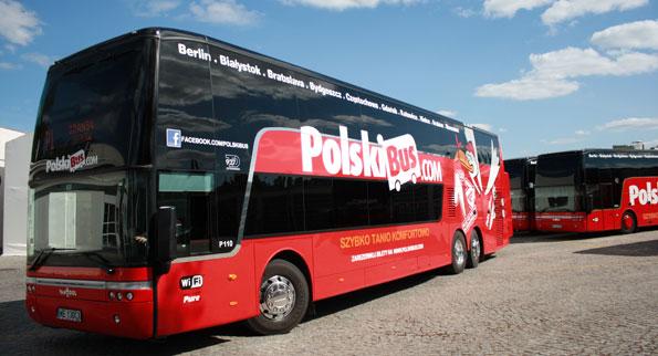 Brian Souters PolskiBus bara växer och växer. Foto: PolskiBus.