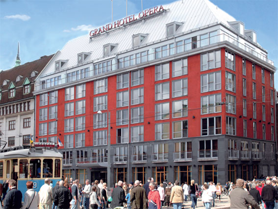 Grand Hotel Opera i Göteborg. Bild: Rasta.
