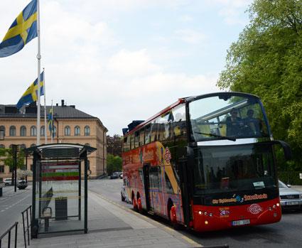 Strömma Turism & Sjöfart blir partner till den globala sightseeingjätten Gray Line. Foto: Ulo Maasing.