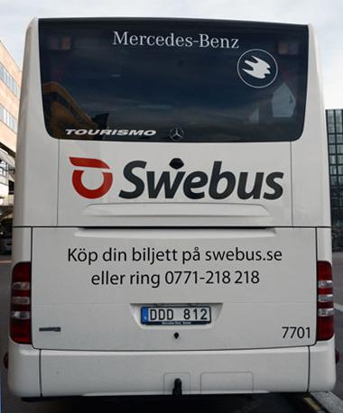 För första gången har Swebus köpt Mercedes-Benzbussar. Foto: Ulo Maasing.