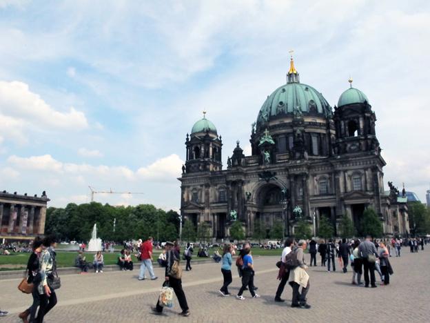 Berlin är en pålitlig turistmagnet i Tyskland. Foto: Ulo Maasing.