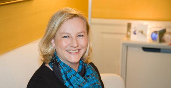 """Handelsminister Ewa Björling: """"Ett glädjande besked"""". Foto: Regeringskansliet."""