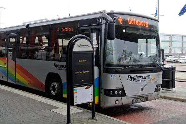 Västtrafik och Flygbussarna har nu kommit överens om nya biljettregler för Landvettertrafiken. Foto: Ulo Maasing.
