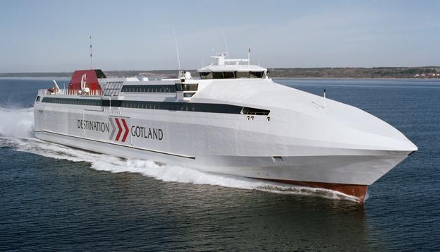 Destination Gotland får fortsätta att köra färjetrafiken mellan Gotland och fastlandet åtminstone till och med år 2017. Foto: Destination Gotland.