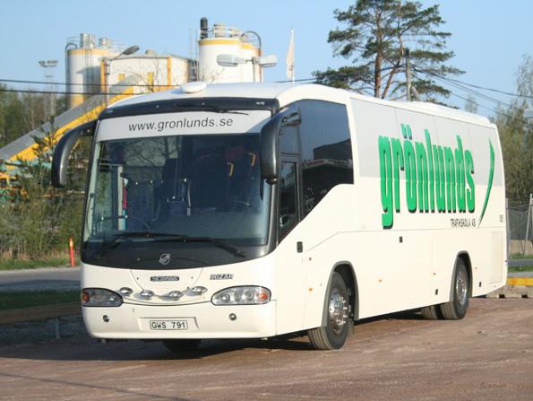 En buss från Grönlunds trafikskola. Foto: Wikimedia commons/bobjork