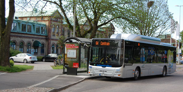 De tryckta busstidtabellerna försvinner i Halland. Foto: Lasse Burell.
