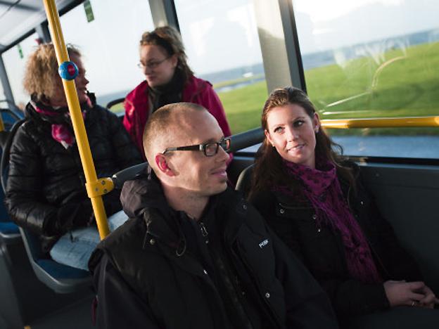 Busspassagerarna i Trollhättan och Vänersborg blir allt mer nöjda. Foto: Västtrafik.
