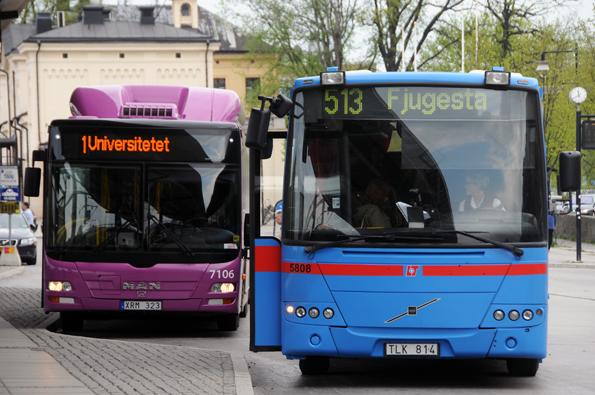 Det nya lågtrafikkortet i Örebro län kommer att finnas både som tätortskort och som länskort. Foto: Ulo Maasing.