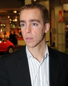 Mattias Andersson, från Samtrafiken till Svensk Kollektivtrafik. Foto: Ulo Maasing.