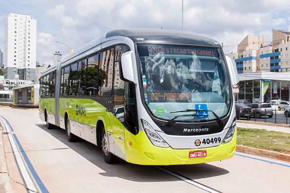BRT-systemet Move i VM-staden Belo Horizonte klarar 700 000 resenärer/dygn. Foto via Wikimedia Commons.