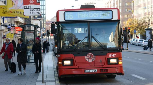 På två år har pendlingstiderna i Storstockholm ökat med 8,5 minuter. Det motsvarar en lönekostnad på 62 miljoner kronor om dagen. Foto: Ulo Maasing.