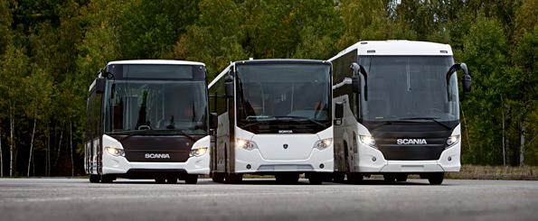 Orderingången för Scanias bussar minskade under årets första tre månader. Foto: Scania.
