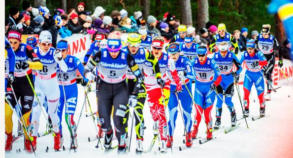 Den planerade nya bussterminalen i Falun hinner inte bli klar till nästa års skid-VM. Foto: Falun2015.