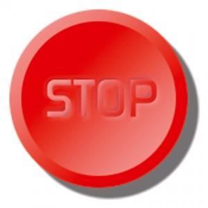 Snart försvinner stoppknappen för köpknappen…