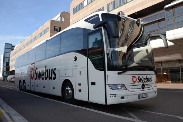 Swebus sätter in massor av extrabussar. Foto: Ulo Maasing.