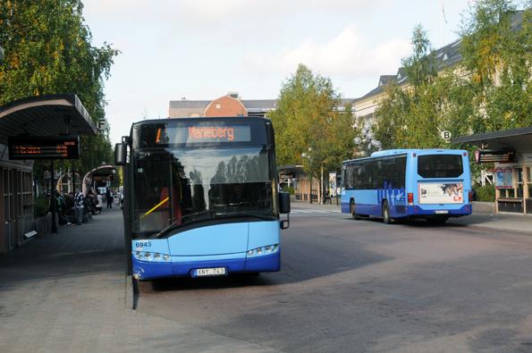 Umeå planerar en omfattande ombyggnad av sitt nav för kollektivtrafiken, Vasaplatsen. Foto: Ulo Maasing.