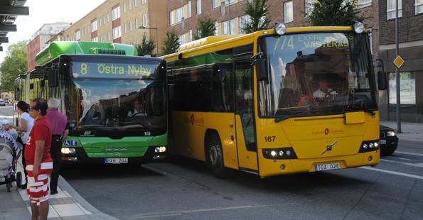 Uppland planerar bussdepåer för två miljarder de närmaste åren. Nu ifrågasätts investeringsplanerna. Foto: Ulo Maasing.