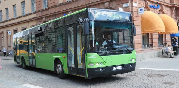 Landstingsägda Gamla Uppsala Buss gillar inte ägarnas planer på ny depå. Foto: Ulo Maasing.