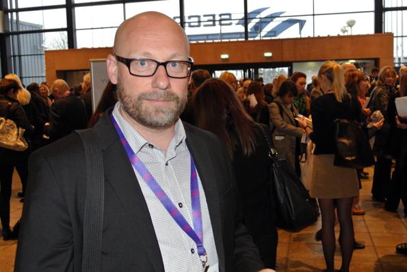 Anders Nord, Rese-Konsulterna: Vi försöker intressera arrangörerna att satsa på mindre grupper till Skottland. Foto: Ulo Maasing.