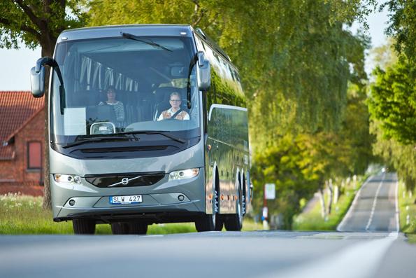 Volvo toppar registreringsstatistiken i mars med 10 nyregistrerade bussar. Foto: Volvo Bussar.