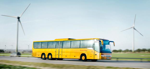 Skånetrafiken och Lunds kommun satsar på samarbete med företag för att locka bilister att välja bussen. Foto: Karl-Johan Hjertström.