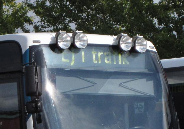 Snart inte längre i trafik. I juni försvinner ytterligare en av de få kommersiella busslinjer som etablerades med stöd av kollektivtrafiklagen från januari 2012. Foto: Ulo Maasing.