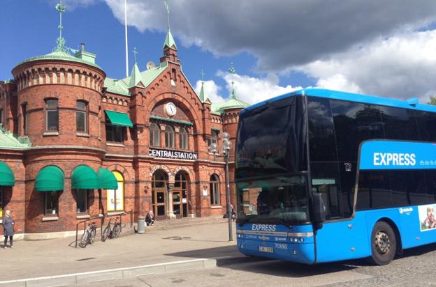 Linje 100 mellan Göteborg och Borås får stadigt allt fler resenärer. Foto: Borås stad.