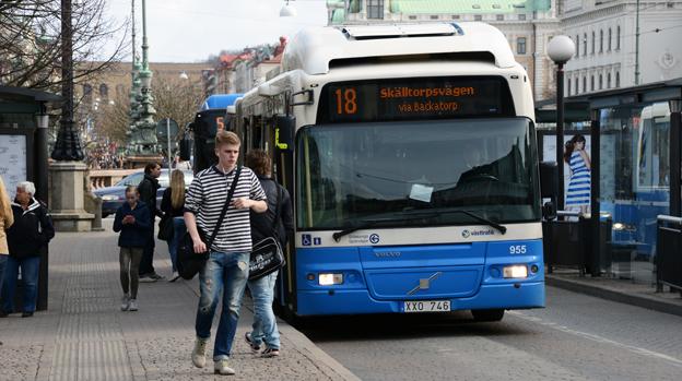 GS Buss ska även i framtiden ägas av Göteborgs kommun har den rödgröna majoriteten i kommunen enats om. Foto: Ulo Maasing.