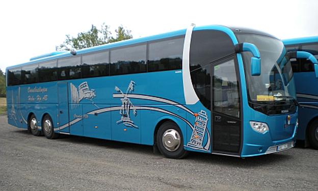 Bild: Omnibuslinjen Habo – Hjo.