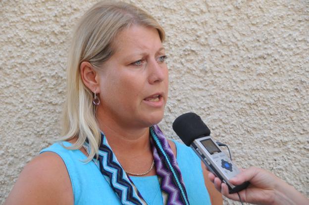 Infrstrukturminister Catharina Elmsäter-Svärd tycker att branschen agerar för långsamt och överväger lagstiftning. Foto: Ulo Maasing.