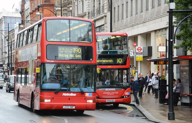I London har Transport for Londons Öppna Data lett till hundratals nya appar som används av miljoner resenärer. Foto: Ulo Maasing.