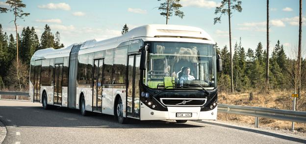 Sales-Lenz i Luxemburg har beställt sex hybridledbussar från Volvo. Företaget ligger i framkant när det gäller olika miljölösningar. Foto: Volvo Bussar.