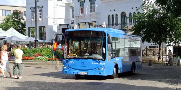 Västtrafiks resenärer ger förarna ett högt betyg. Foto: Ulo Maasing.