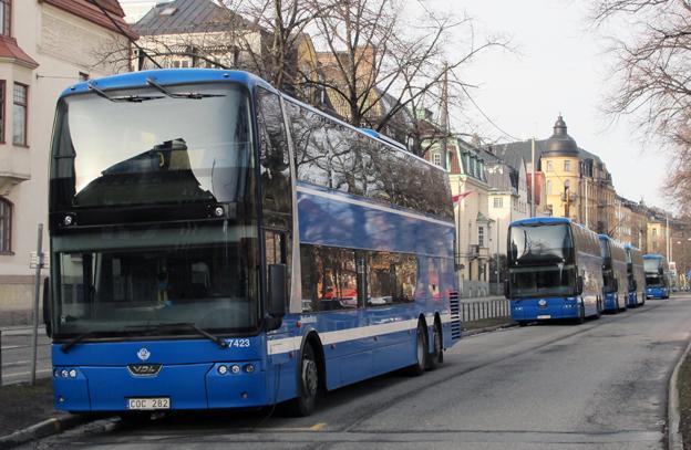 Fler bussar men inget tåg vill Norrtälje kommun norr om Stockholm ha. Foto: Ulo Maasing.