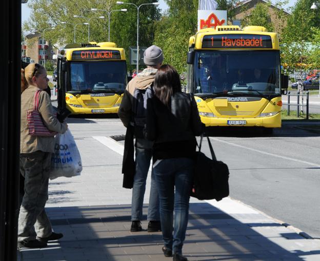 Citybuss får fortsätta köra tätortstrafiken i Piteå. Sedan man tog över trafiken 2007 har resandet med stadsbussarna i Piteå ökat kraftigt. Foto: Ulo Maasing.