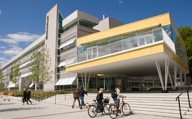 Biocentrum vid SLU i Ultuna. Foto: Jenny Svennås-Gillner, SLU.