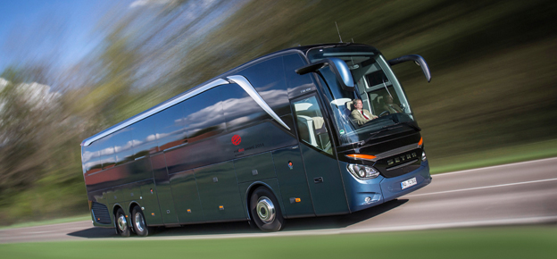 Prisad för sin design: Setra TopClass 500. Bild: Daimler Buses.
