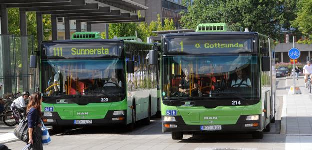 Kostnaderna för nya bussdepåer i Uppsala län ska granskas. Foto: Ulo Maasing.