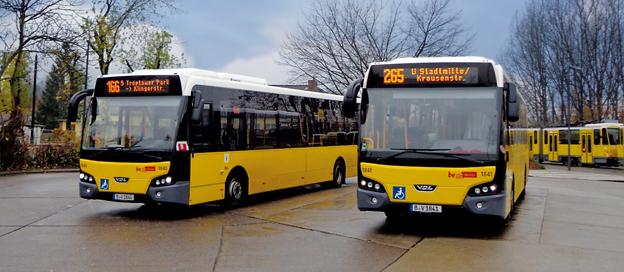 VDL har fått sin största order hittills från den tyska marknaden. Foto: VDL Bus & Coach.