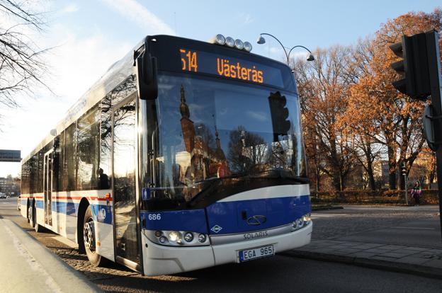 Västeråsborna har blivit avsevärt mer nöjda med sin kollektivtrafik på ett år. Foto: Ulo Maasing.