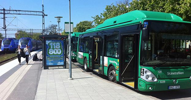 Ystadsborna får chansen att forma framtidens stadsbusstrafik. Foto: Ystads kommun.
