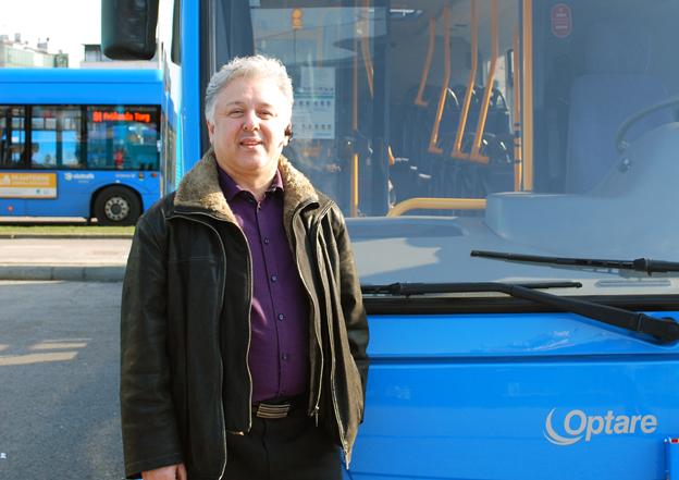 Ger sig inte så lätt: Slamak Notash Rad och hans företag AMB Transport.