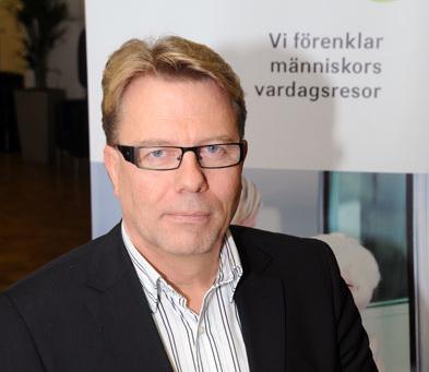 Jan Bosæus, ordförande i Sveriges Bussföretag. Foto: Ulo Maasing.